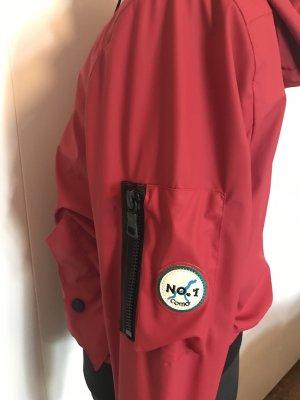 Como No1 Jacke Regenjacke Wasserdicht Rot Gr. S Neu