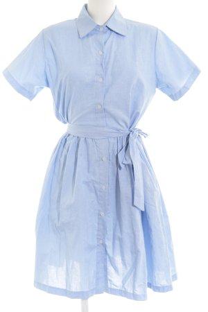 Compañia Fantastica Robe chemisier bleu azur style décontracté