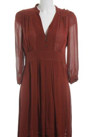 Comptoir Des Contonniers Abendkleid ziegelrot Elegant