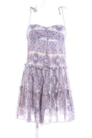 Comptoir des Cotonniers A-Linien Kleid abstraktes Muster Elegant