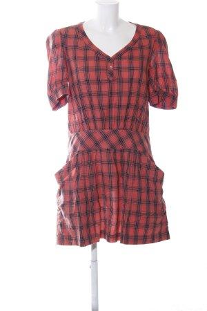 Comptoir des Cotonniers A-Linien Kleid Karomuster Casual-Look