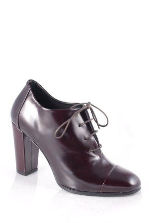 Comptoir des Cotonniers Ankle Boots braunrot klassischer Stil