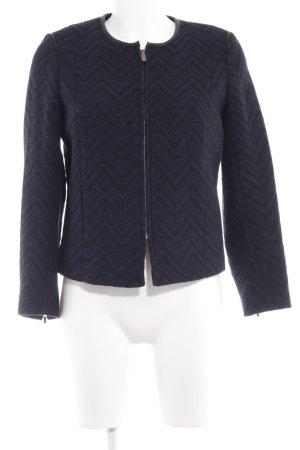 Comptoir des Cotonniers Blouson black-dark blue zigzag pattern simple style