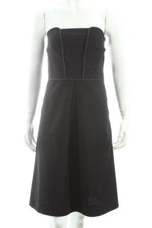Comptoir des Cotonniers Robe bustier noir style minimaliste
