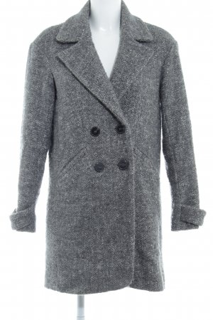 Comptoir des Cotonniers Heavy Pea Coat flecked casual look