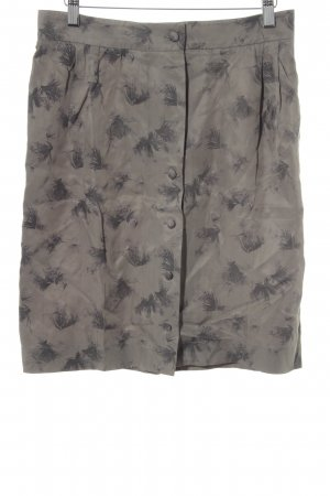 Comptoir des Cotonniers Cargorock grüngrau-grau florales Muster Safari-Look