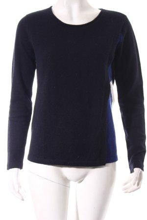 Comptoir des Cotonniers Cashmerepullover schwarz-blau schlichter Stil