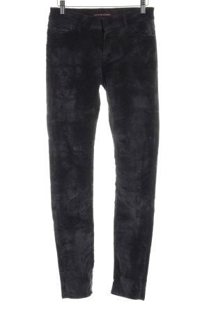 Comptoir des Cotonniers Pantalón de pana gris estampado batik estilo gitano