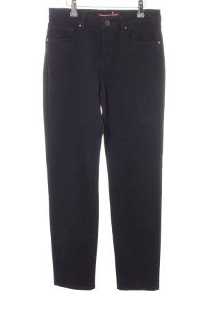 Comptoir des Cotonniers Pantalón de cinco bolsillos azul oscuro look casual