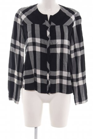 Comptoir des Cotonniers Flannel Shirt black-white check pattern casual look