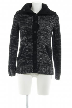 Comptoir des Cotonniers Coarse Knitted Jacket black-light grey casual look