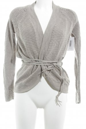 Comptoir des Cotonniers Cardigan all'uncinetto grigio chiaro stile casual