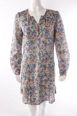Comptoir des Cotonniers Hemdblusenkleid Blumenmuster