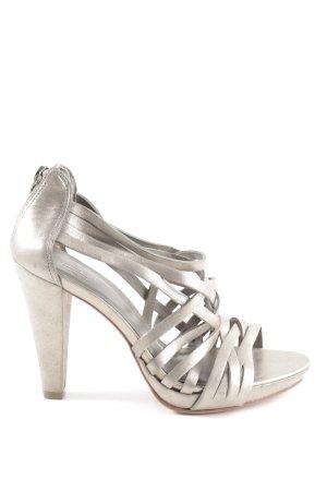 Comptoir des Cotonniers High Heel Sandaletten grau-goldfarben Casual-Look