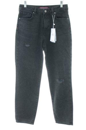 Comptoir des Cotonniers Hoge taille jeans lichtgrijs casual uitstraling