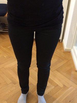 Comptoir des Cotonniers Jeans beschichtet schwarz Größe XS
