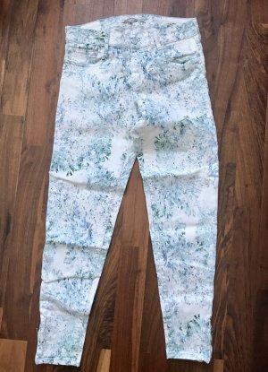 Comptoir des Cotonniers Jeans weiß mit Blumenprints