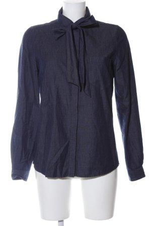 Comptoir des Cotonniers Jeansbluse blau Business-Look