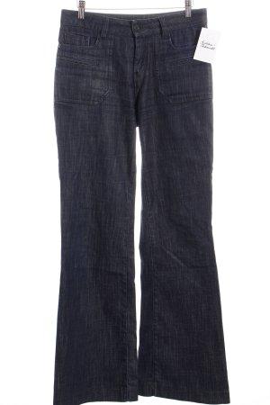 Comptoir des Cotonniers Jeansschlaghose dunkelblau Street-Fashion-Look