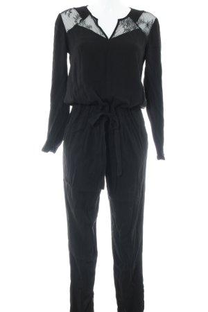 Comptoir des Cotonniers Jumpsuit schwarz Elegant