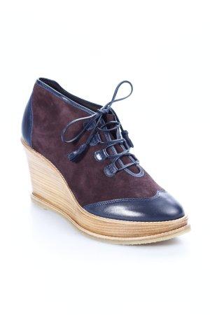 Comptoir des Cotonniers Keil-Stiefeletten schwarzbraun-dunkelblau Casual-Look