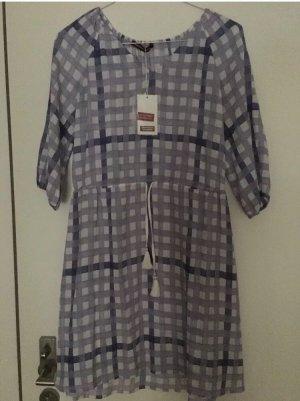 Comptoir des Cotonniers Kleid, Größe 36, Lila Weiß