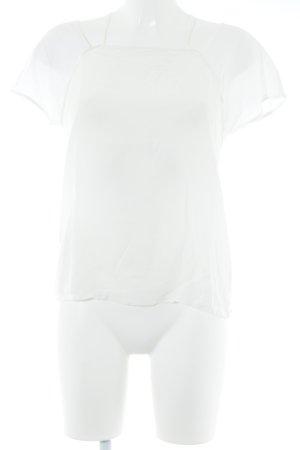Comptoir des Cotonniers Kurzarm-Bluse creme Elegant
