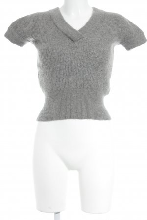 Comptoir des Cotonniers Short Sleeve Sweater grey