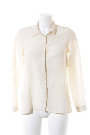 Comptoir des Cotonniers Langarm-Bluse creme Business-Look