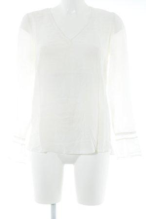 Comptoir des Cotonniers Langarm-Bluse creme Elegant