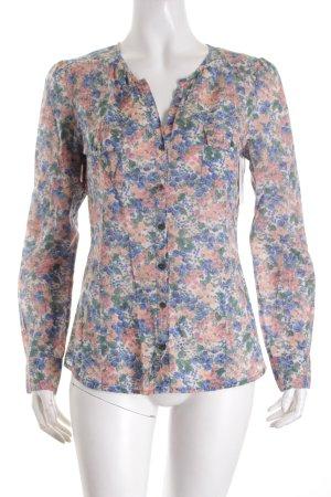 Comptoir des Cotonniers Langarm-Bluse florales Muster Casual-Look