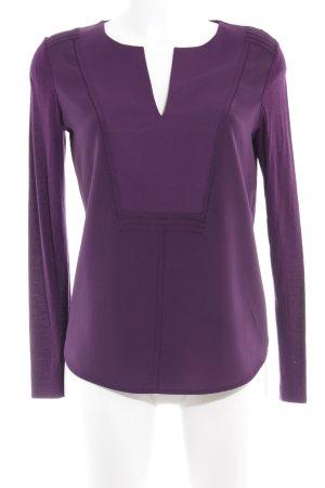 Comptoir des Cotonniers Langarm-Bluse lila Elegant