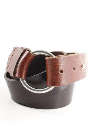 Comptoir des Cotonniers Ledergürtel dunkelbraun-braun schlichter Stil