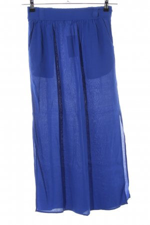 Comptoir des Cotonniers Maxirock blau Casual-Look