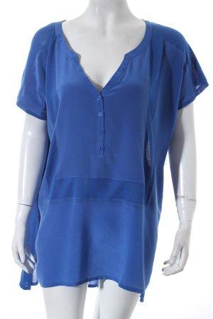 Comptoir des Cotonniers Oversized Shirt blau Casual-Look