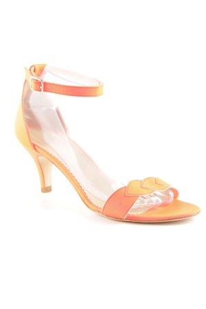 Comptoir des Cotonniers Riemchen-Sandaletten neonorange Elegant