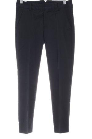 Comptoir des Cotonniers Pantalone a sigaretta nero-blu scuro stile professionale
