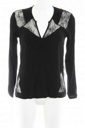 Comptoir des Cotonniers Schlupf-Bluse schwarz Elegant