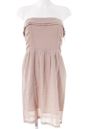 Comptoir des Cotonniers schulterfreies Kleid beige schlichter Stil