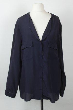 Comptoir des Cotonniers Seidenbluse Gr. 40 blau