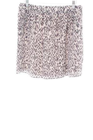 Comptoir des Cotonniers Silk Skirt white-black allover print casual look