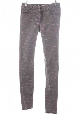 Comptoir des Cotonniers Skinny Jeans Farbtupfermuster Hippie-Look