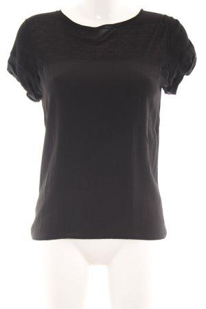 Comptoir des Cotonniers T-Shirt schwarz klassischer Stil
