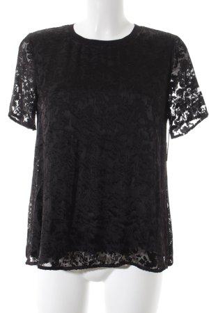 Comptoir des Cotonniers T-Shirt schwarz minimalistischer Stil
