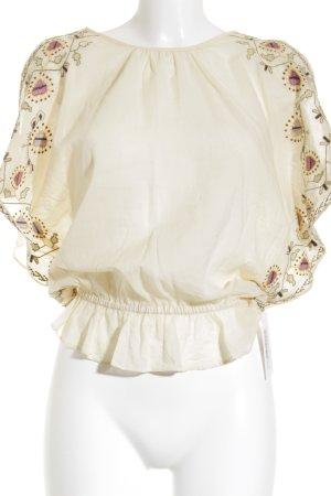 Comptoir des Cotonniers Transparante blouse bloemenprint simpele stijl