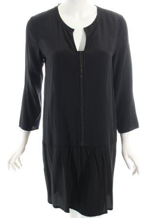 Comptoir des Cotonniers Tunikakleid schwarz Eleganz-Look