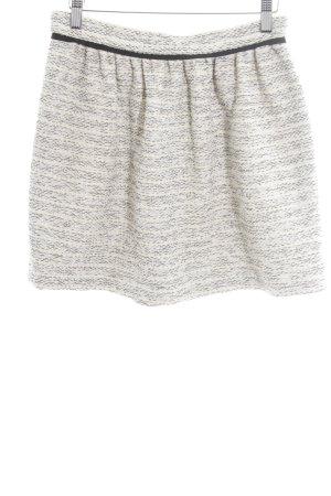 Comptoir des Cotonniers Falda Tweed blanco puro-negro elegante
