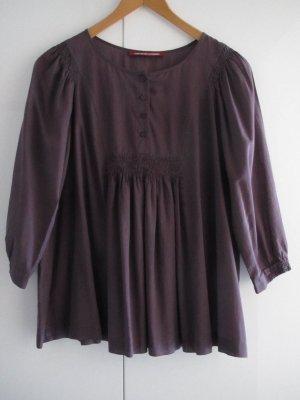 Comptoir des Cotonniers – weinrote ausgestellte Bluse
