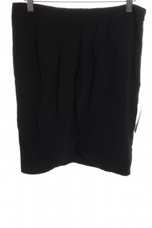 Comptoir des Cotonniers Wraparound Skirt black business style