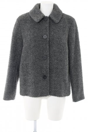Comptoir des Cotonniers Chaqueta de lana gris claro moteado look casual